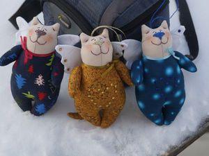 Шьем своими руками нарядного котика в стиле тильда | Ярмарка Мастеров - ручная работа, handmade