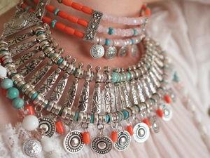 Assembling an A La Russe Necklace. Livemaster - handmade