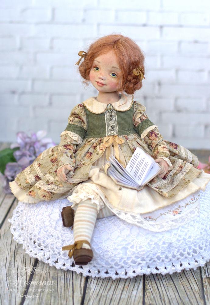 текстильная кукла, елена негороженко