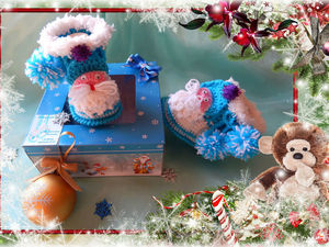 Подарок на Новый Год для самых маленьких.. Ярмарка Мастеров - ручная работа, handmade.