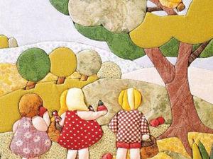 Японская Техника «кИнусайга», Или Пэчворк без Иглы... в Этой Технике Получаются Прекрасные Картины, Панно, Сувениры!   Ярмарка Мастеров - ручная работа, handmade