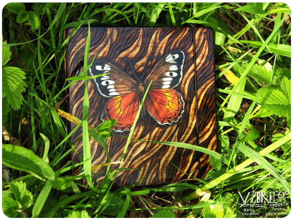 vzbrelo, деревянные блокноты, деревянный блокнот, новое, бабочки, новая бабочка, деревянный скетчбук, дерево, роспись, обновление витрины