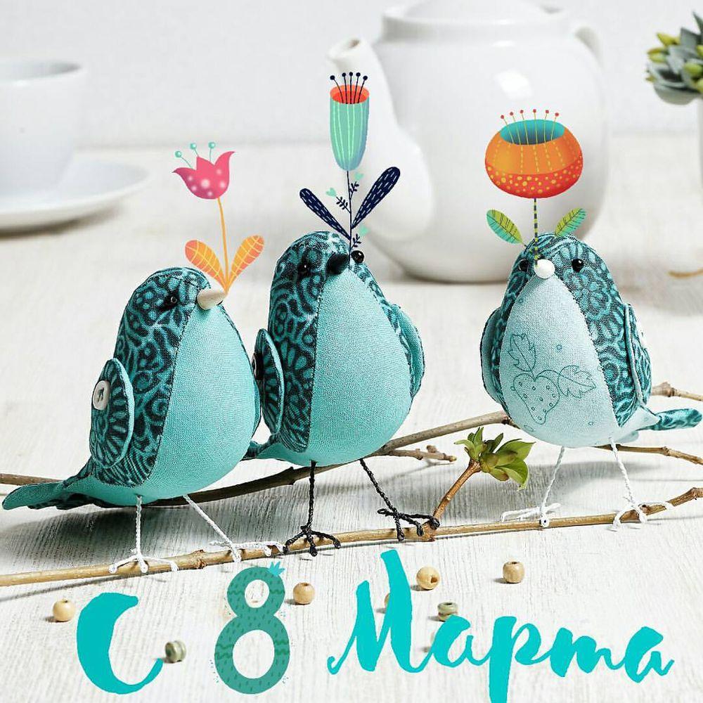 8марта, весна, весна 2017, поздравление, птицы, птички