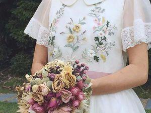 Свадебная вышивка | Ярмарка Мастеров - ручная работа, handmade