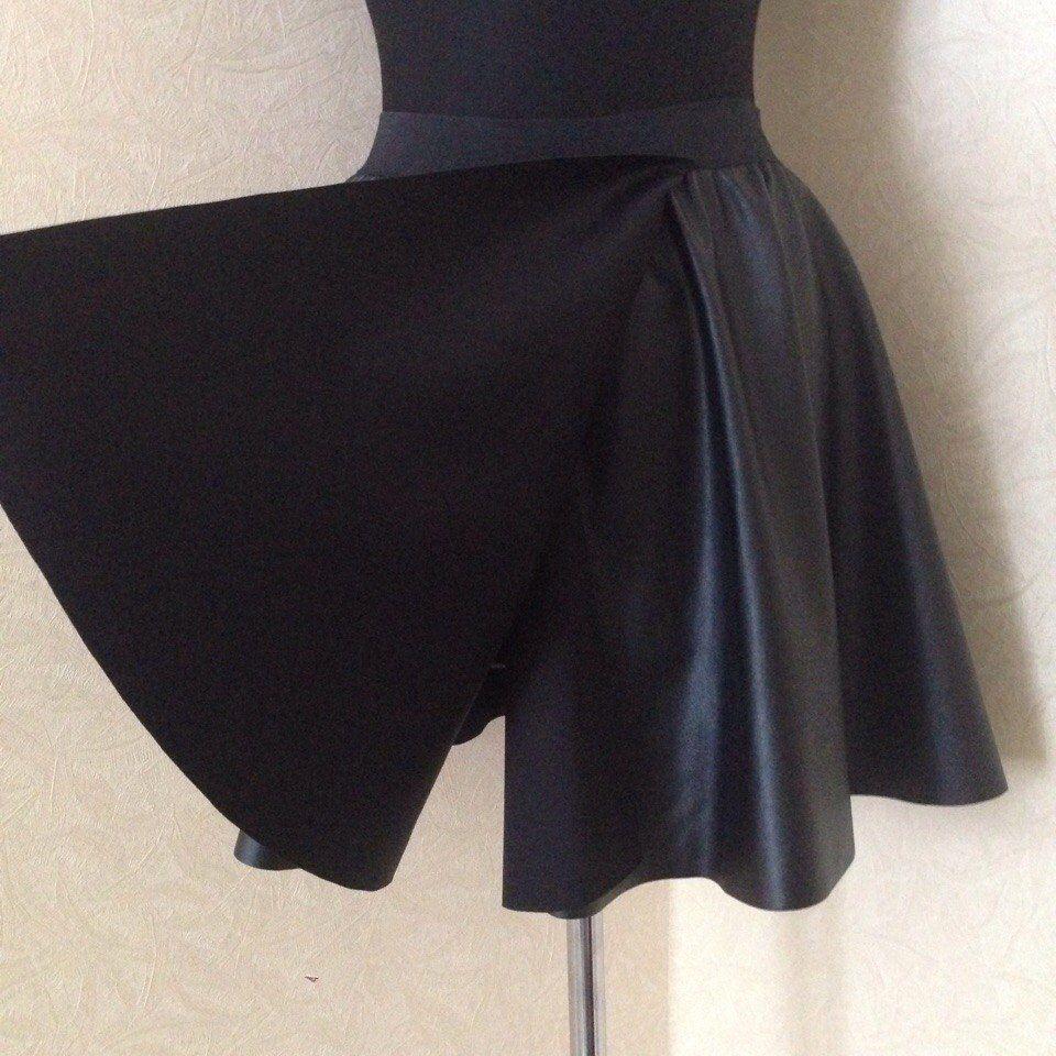 искусственная кожа, юбка-солнце, юбка мини, юбка макси, пышная юбка