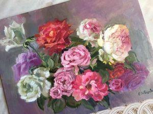 Картины Цветов для уюта. Ярмарка Мастеров - ручная работа, handmade.