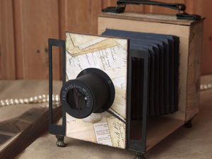 Фотоальбом стилизованый под фотоаппарат. Ярмарка Мастеров - ручная работа, handmade.