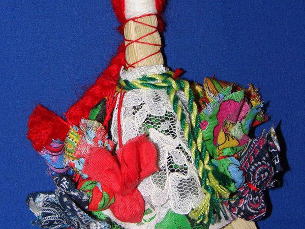 Традиционные куклы: Веничек Благополучия. | Ярмарка Мастеров - ручная работа, handmade