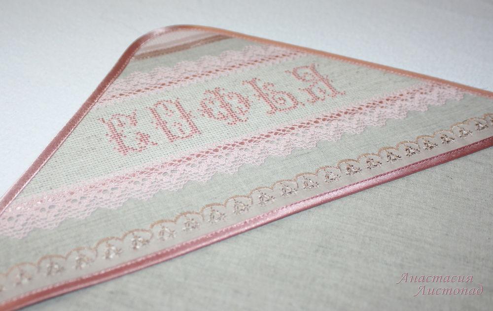 крестильная пеленка, новинка магазина, именная пелёнка