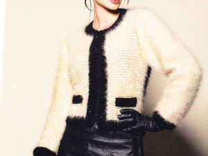 Вязаные изделия Коко Шанель и Карла Лагерфельда: тенденции современной вязанной моды стиля Шанель. Ярмарка Мастеров - ручная работа, handmade.