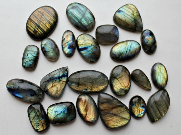 Приглашаю на аукцион лабрадоров и других натуральных камней! | Ярмарка Мастеров - ручная работа, handmade