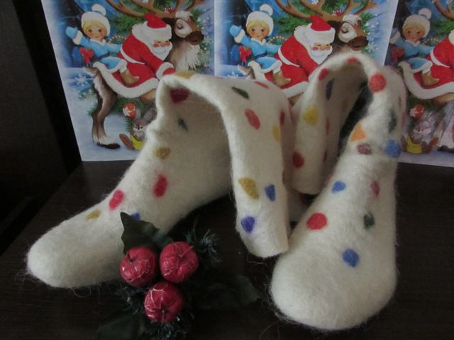 носочки, подарок к празднику