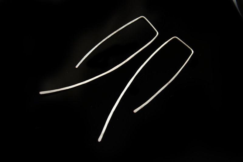 Создаем четыре пары модных сережек из проволоки в технике ire rap, фото № 5