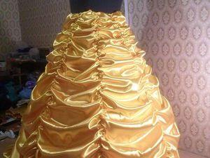 Анонс пошива платья