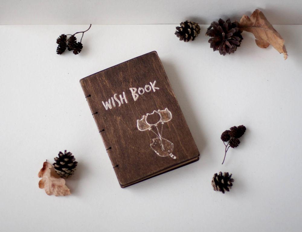 wish book, подарок подруге, резьба по деверу