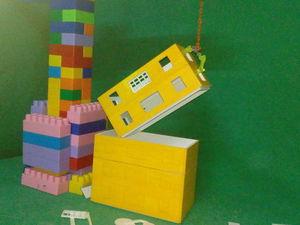 Что нам стоит 5-ти этажный дом построить | Ярмарка Мастеров - ручная работа, handmade