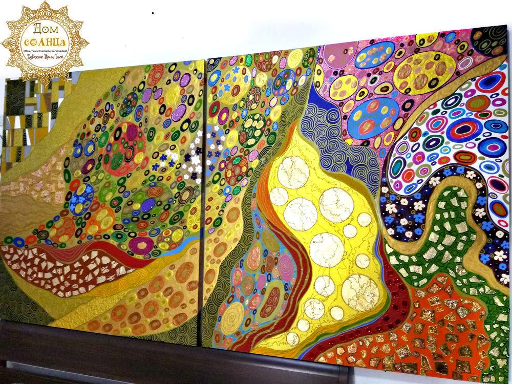 абстракция густав климт