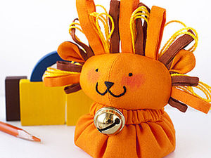 Sensory DIY Lion Toy for Toddlers. Livemaster - handmade