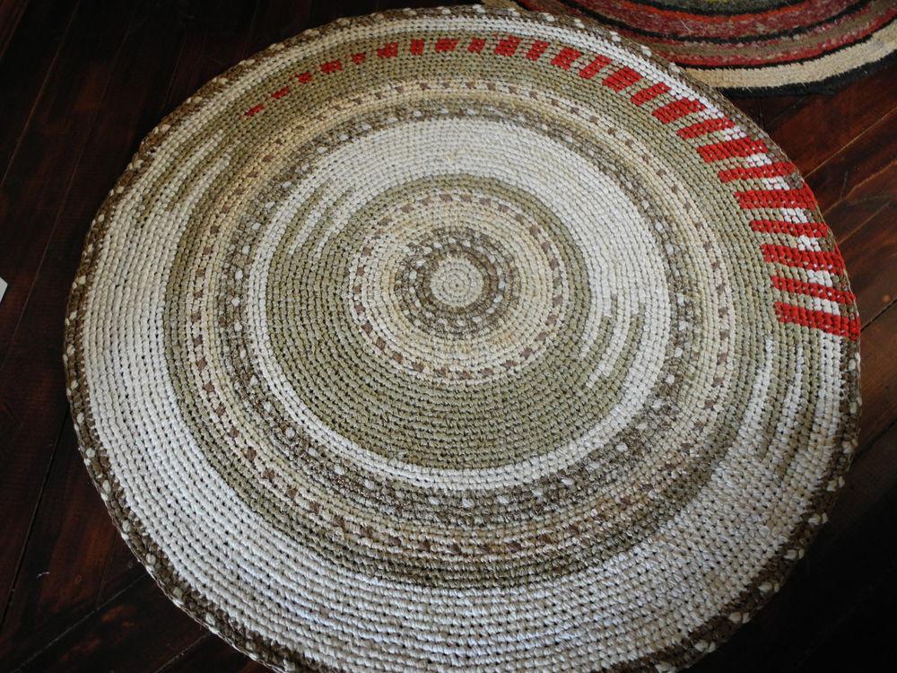 круглые коврики