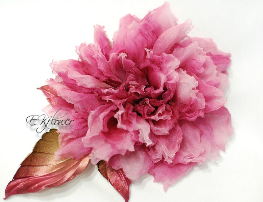 видео-урок, цветы из шелка, цветы ручной работы, мастер-класс, роза из ткани, шелковая флористика