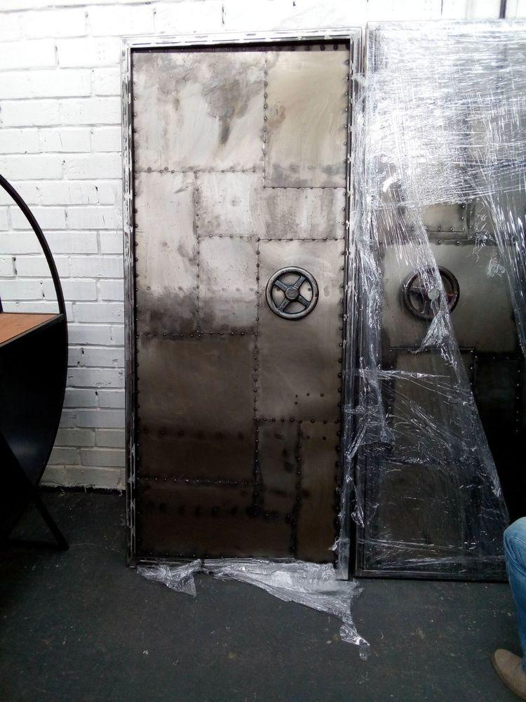 дверь лофт, лофт дверь, дизайн дверей, индустриальный стиль, дверь