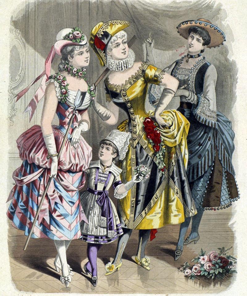 Восхитительная мода конца ХIХ века, фото № 14