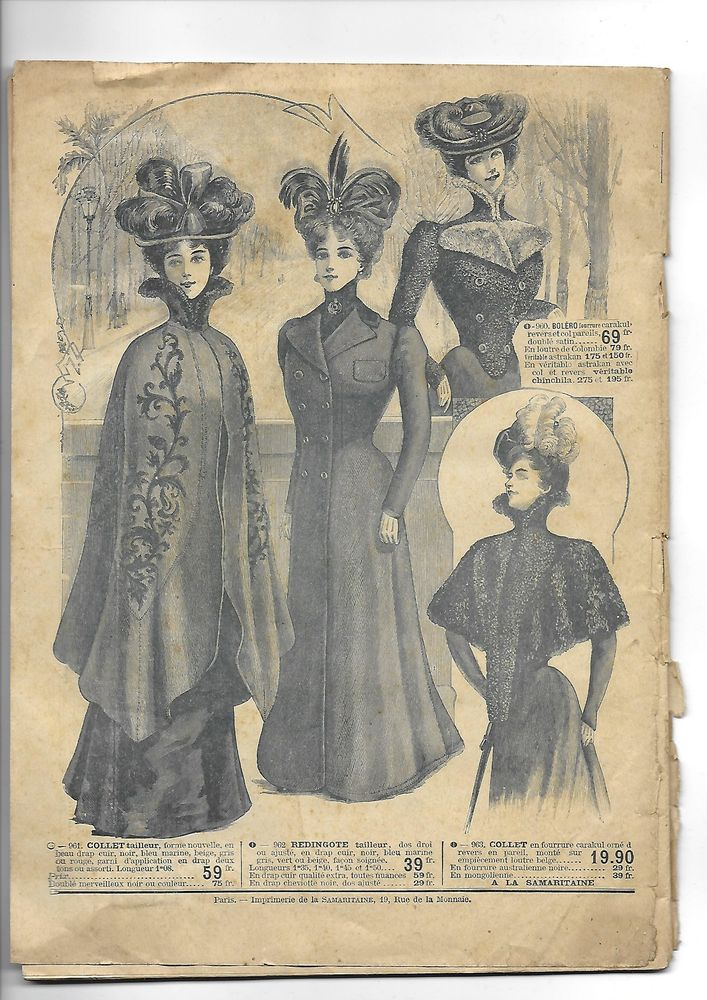 мода 1900 года