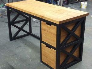 Письменные столы в стиле лофт от нашей студии. Ярмарка Мастеров - ручная работа, handmade.