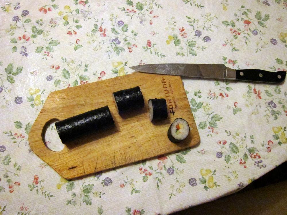 Режем суши