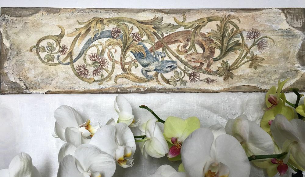 фреска, роспись стен, стиль, обучение росписи, обучение рисованию, мастер-класс по росписи