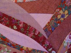 Лоскутное шитьё из полос - импровизация на любимую тему.. Ярмарка Мастеров - ручная работа, handmade.