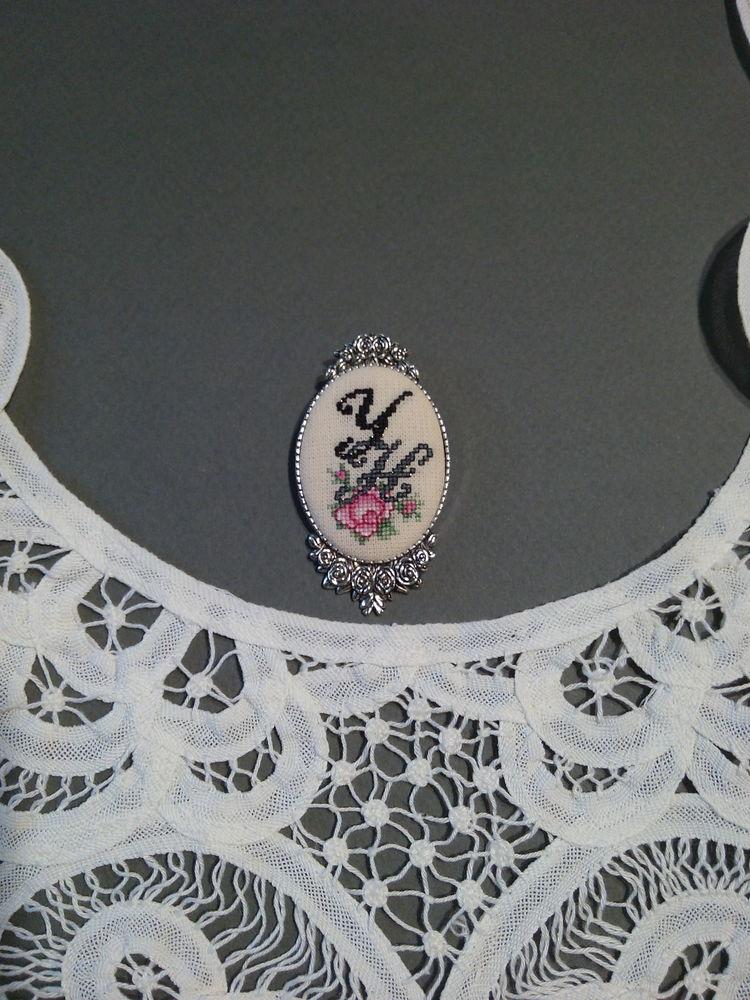 вышивка ручная, авторские украшения