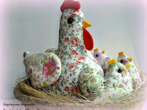 Пасха!! Заказы на курочку с цыплятками!. Ярмарка Мастеров - ручная работа, handmade.