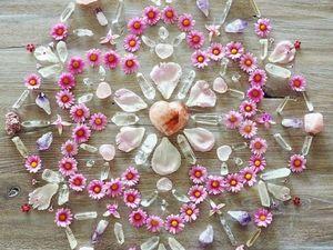 Мандалы из натуральных камней как источник вдохновения. Ярмарка Мастеров - ручная работа, handmade.
