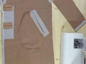 Пальто процесс создания. Ярмарка Мастеров - ручная работа, handmade.