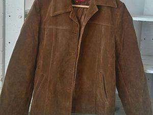 Отдам даром куртку из искусственной замши. Московская обл., Железнодорожный. Самовывоз или почта | Ярмарка Мастеров - ручная работа, handmade