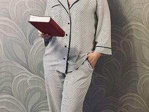 Английская пижама со скидкой 20%. Ярмарка Мастеров - ручная работа, handmade.