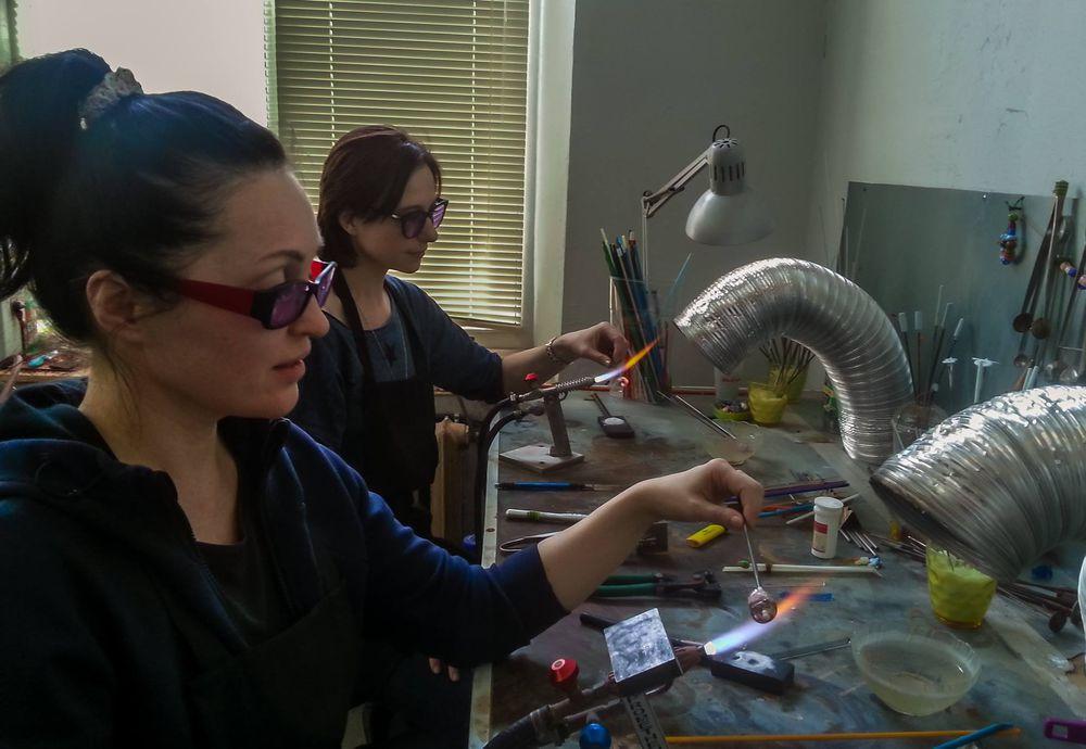 лэмпворк, обучение лэмпворк, работа со стеклом, обучение выплавлению
