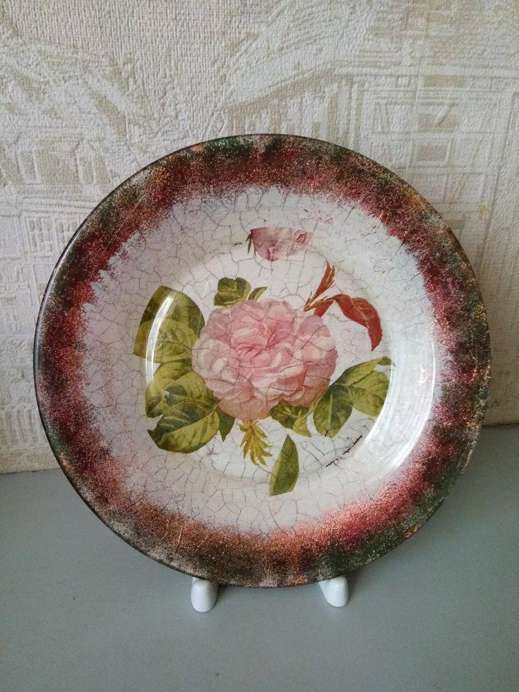 Мк декор тарелок с фото