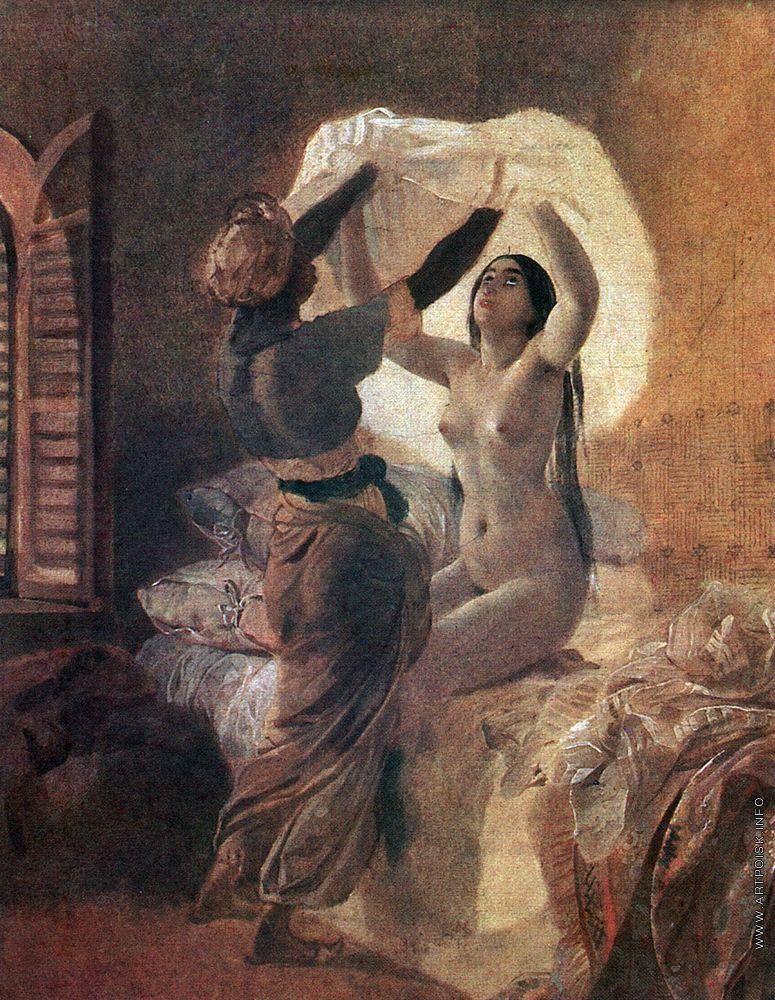 Любовь и творчество Карла Брюллова: образ Юлии Самойловой в работах художника, фото № 12