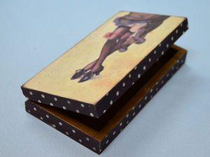 Купюрница Дамские Ножки | Ярмарка Мастеров - ручная работа, handmade