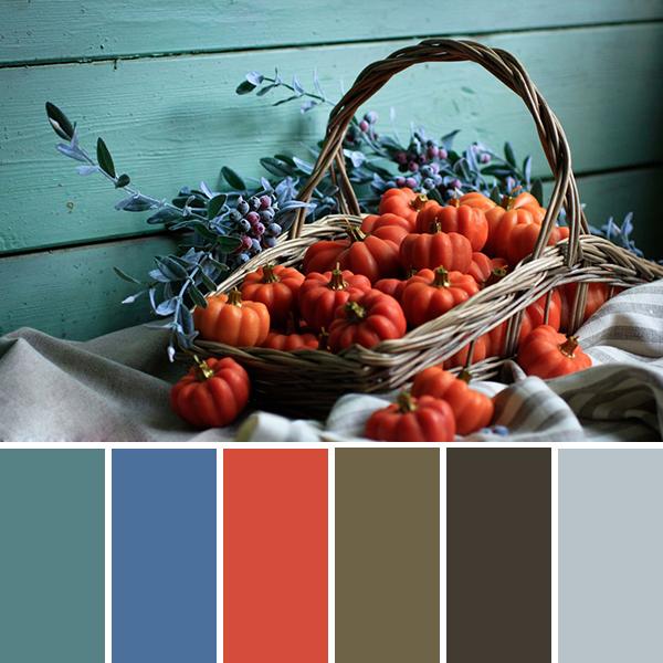 25 красочных осенних палитр в работах мастеров Ярмарки
