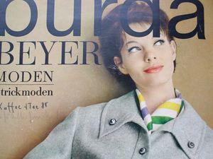 Burda Beyer moden 10/1963 Бурда Моден. Ярмарка Мастеров - ручная работа, handmade.