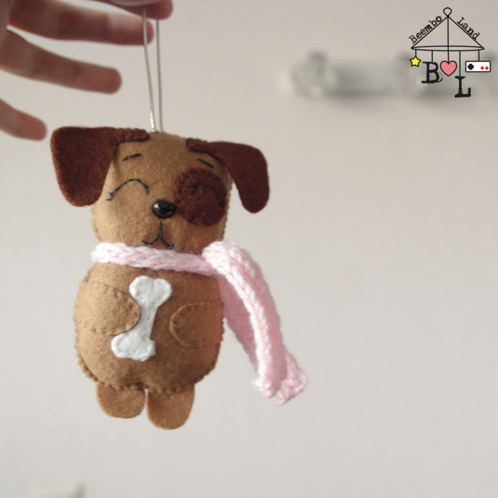 Sewing a Sweet Felt Dog for a Christmas Tree, фото № 19