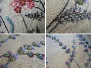 Ботаническая вышивка: от стежков к шедеврам | Ярмарка Мастеров - ручная работа, handmade