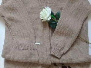 только сегодня цена на кардиган 4000(розовый свитер в подарок). Ярмарка Мастеров - ручная работа, handmade.