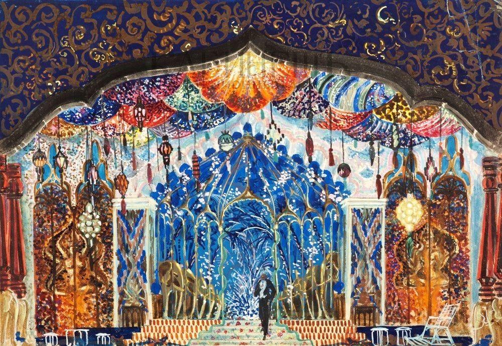 Валерий Яковлевич Левенталь, художник-сценограф. Выставка в Театральном музее им. А.А.Бахрушина