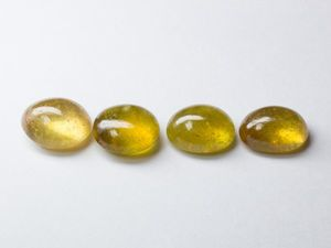 Сапфиры желтые 4 лота. Ярмарка Мастеров - ручная работа, handmade.