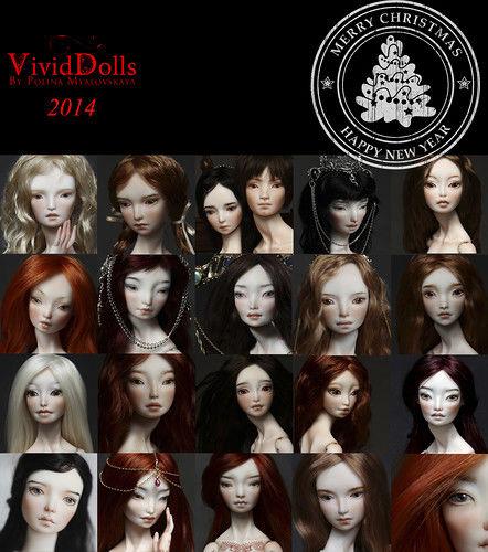 vividdolls, шарнирные куклы, bjd