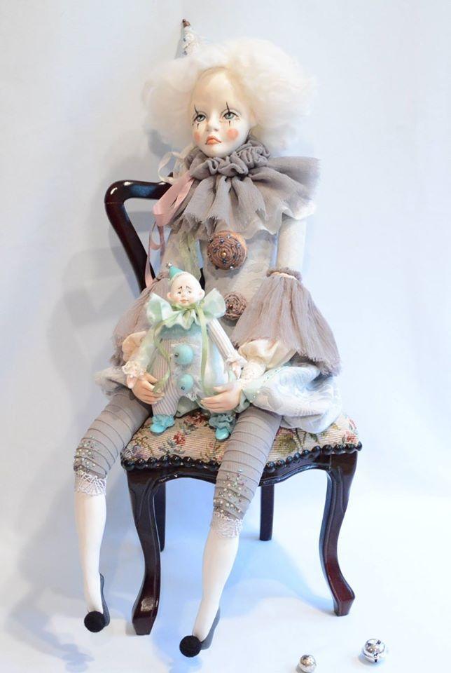 авторская кукла, работа над куклой